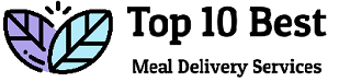 Top 10 Best Meal Delivery Services Logo